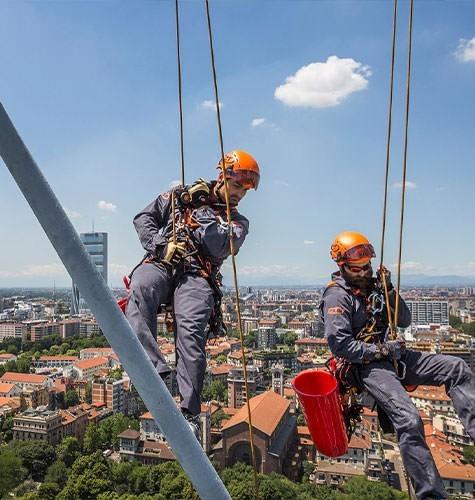 Услуги промышленного альпинизма в Ульяновске